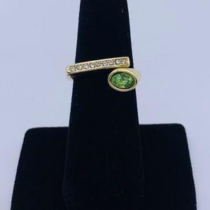Jewelry - Exquisite Women's 18K Gold Opening Fashion Peridot
